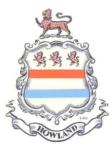 Howland Coat of Arms